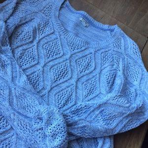 Heather Light Blue Sweater